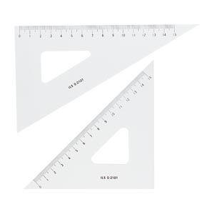 井上製作所 三角定規 18cm   ILS S-2181