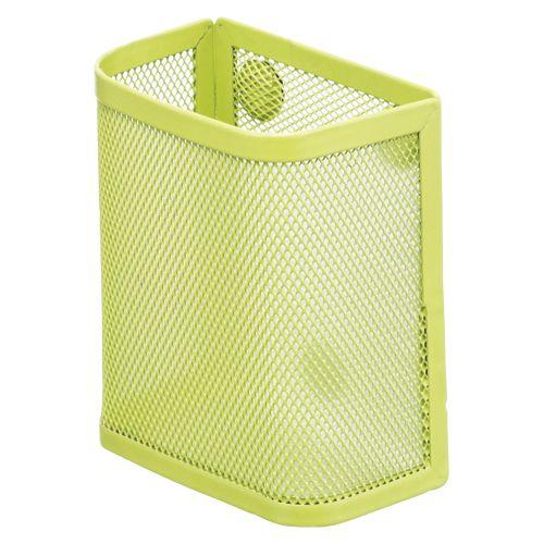 マグネットポケット(ペンスタンド) 黄緑  A-7390-6