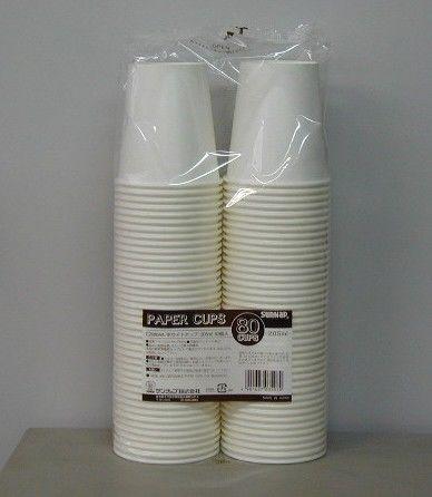 ホワイトカップ205ML7オンス 80個 (C2080AA)