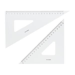井上製作所 三角定規 24cm (ILS S-2241) 文具・事務用品 文具・OA機器