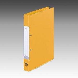 Dリングファイル A4S 2穴 黄  G2220-5