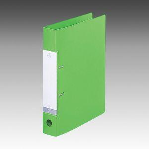 Dリングファイル A4S 2穴 黄緑  G2230-6