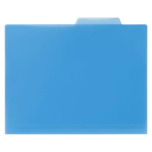 PP製個別ホルダー10枚入 ブルー  KFPA4BL