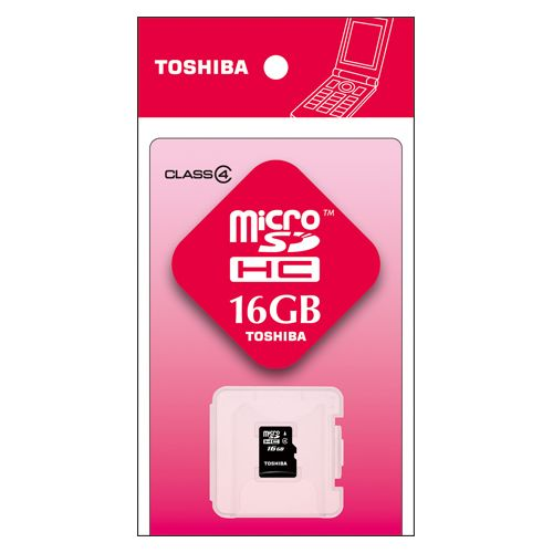 東芝 microSDHCメモリカード 16GB   SD-ME016GS