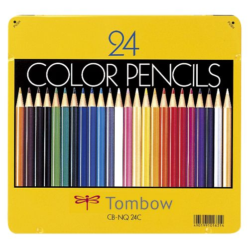 アケボノクラウン 色鉛筆 24色NQ   CB-NQ24C