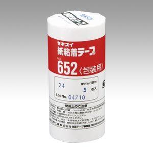 紙粘着テープ652 24X18 5個入 (NO.652 24X18-5P)