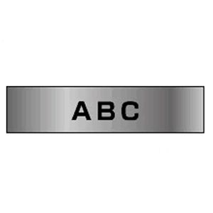 ブラザー ピータッチテープ18mm 銀 黒文字  TZE-M941