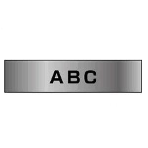 ブラザー ピータッチテープ24mm 銀 黒文字  TZE-M951