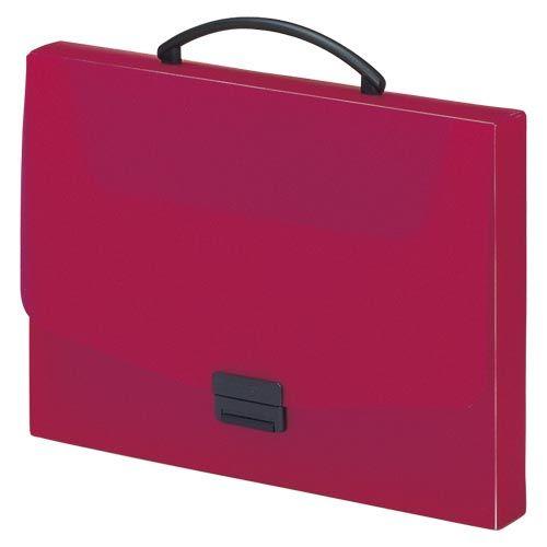 リヒトラブ バッグ A4 赤  A-5005-3