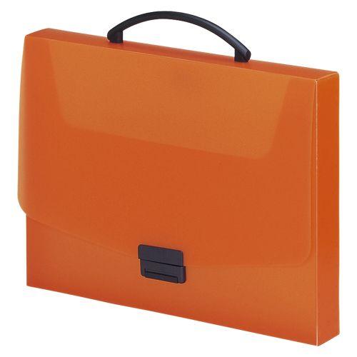 リヒトラブ バッグ A4 橙  A-5005-4