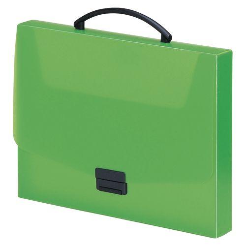 リヒトラブ バッグ A4 黄緑  A-5005-6