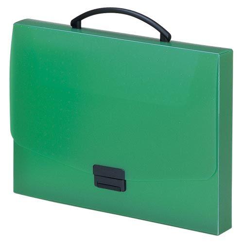 リヒトラブ バッグ A4 緑  A-5005-7