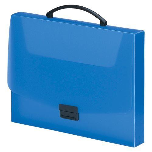リヒトラブ バッグ A4 青  A-5005-8