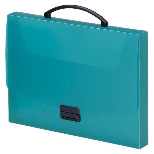 リヒトラブ バッグ A4 青緑  A-5005-28