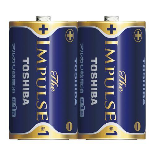 アルカリ電池ザ・インパルス 単一2本BP (LR20HS 2BP)