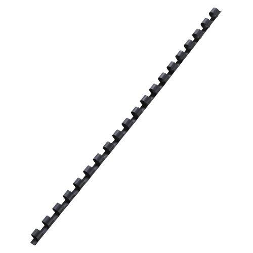 アコ・ブランズ プラスチックリング(A4・20穴) ブラック  PR0820A4-BK