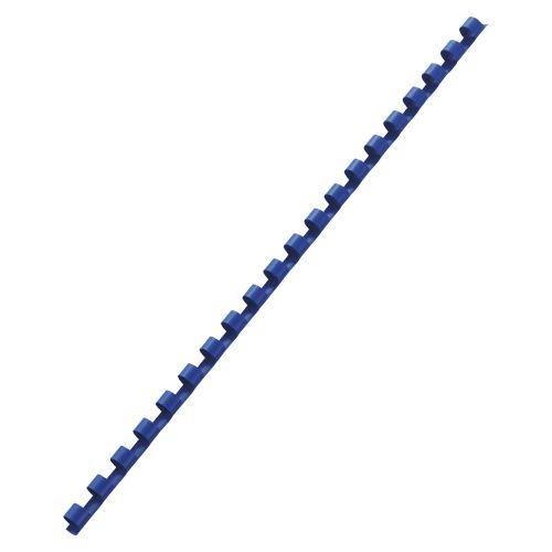 アコ・ブランズ プラスチックリング(A4・20穴) ブルー  PR0820A4-BL