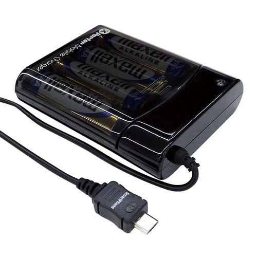 スマホ対応マイクロUSBバッテリー充電器 (BJ-XP1)