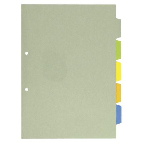 カバー付カラーインデックス A4縦型 (907-2C)