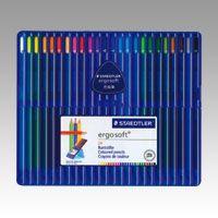 ステッドラー エルゴソフト色鉛筆 24色   157 SB24