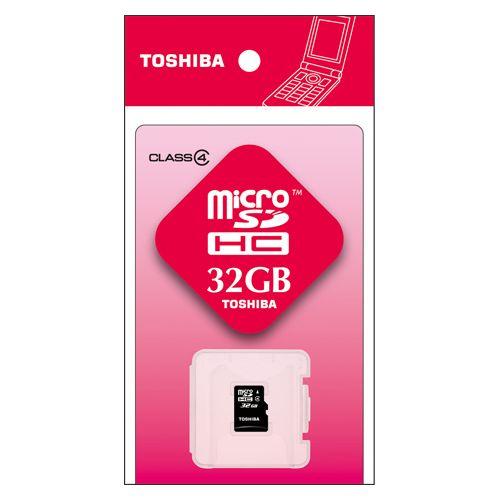 東芝 microSDHCメモリカード 32GB   SD-ME032GS