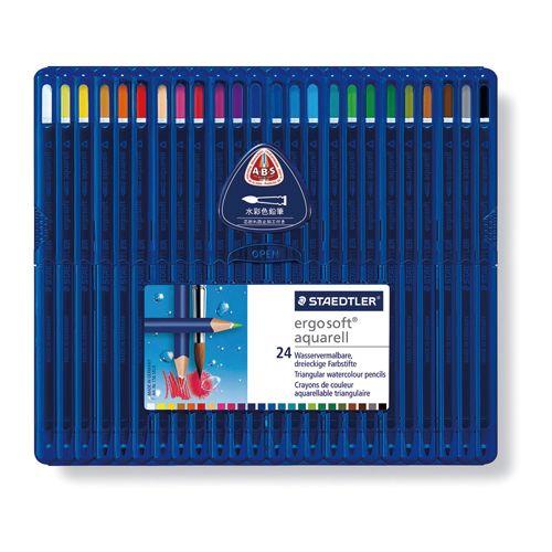 ステッドラー エルゴソフト水彩色鉛筆 24色   156 SB24