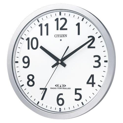 シチズン 電波掛時計 スペイシー M462   8MY462-019