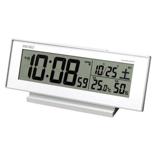 夜でも見える電波時計   SQ762W