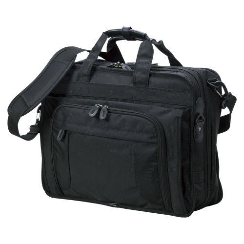 クラウン 多機能ビジネスバッグ 黒  CR-BB730-B