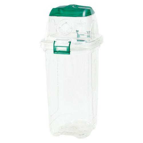 透明エコダスター ペットボトルキャップ用 グリーン  TPDC45G