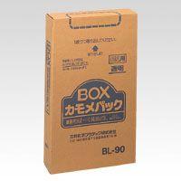 カモメパックBOX 透明90L 100P (BL-90)