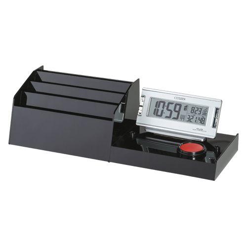 記載台オプション(伝票ケース・デジタル) ブラック  KDO-DC-S