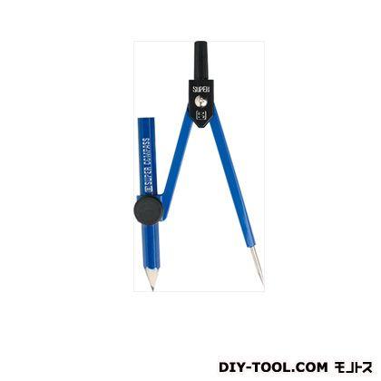 スーパーコンパス 鉛筆用 紺 (EC-255-K)