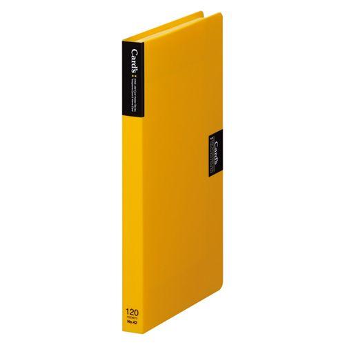 キングジム カードホルダー「カーズ」(溶着式) 黄  42