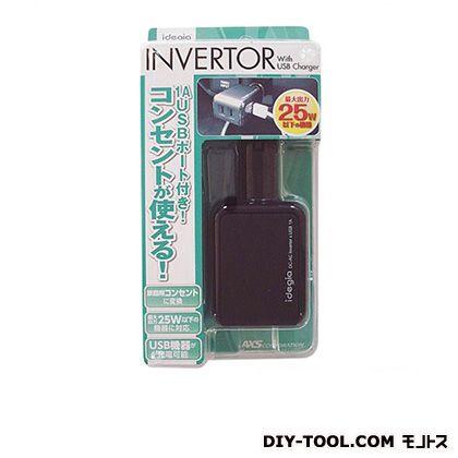 アークス idegia AC/DC インバーター(USBポート付)   X-058