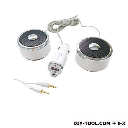 アークス idegia-ダイナミックデュアルサウンド(充電機能付) ホワイト  X-118