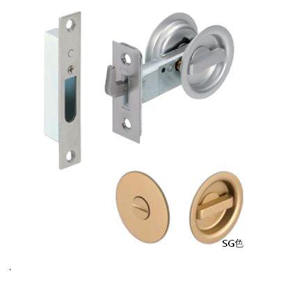 TKSチューブラ鎌錠 間仕切錠 SG バックセット51mm TKS51-P2 070021