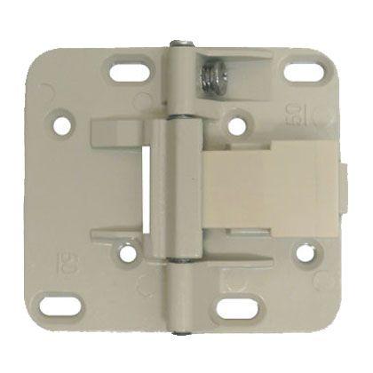 収納折戸用丁番 アイボリー  HD-50 080696 3 個