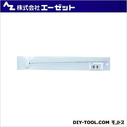 ステンレス太ノズル 白ボタン 200mm  (JS600)