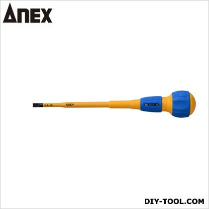 アネックス スリム絶縁ドライバー  -6x150 7900   絶縁ドライバー 絶縁工具