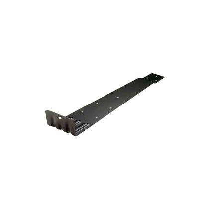ステン扇型 (先付) ステン430 黒 H45×W83×D300 (U-10-3) 100個