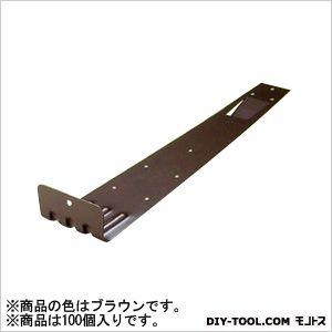 ステン扇型 (後付) 2型 ステン430 ブラウン H45×W83×D355 (U-12-4) 100個