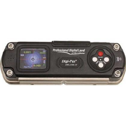 精密デジタル水準器 振動計内臓型 ブラック 188×62×37mm DXL-3500XY