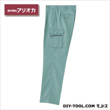 作業着(作業服) ツータックカーゴパンツ 春夏用 アースグリーン 85 (676)