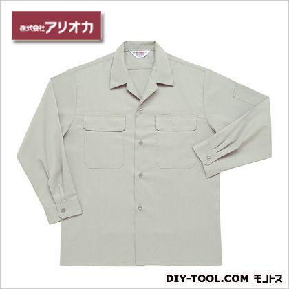 長袖開襟シャツ アースグリーン M (A28000)