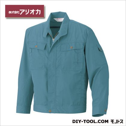 長袖ジャンパー ナイルブルー M M560