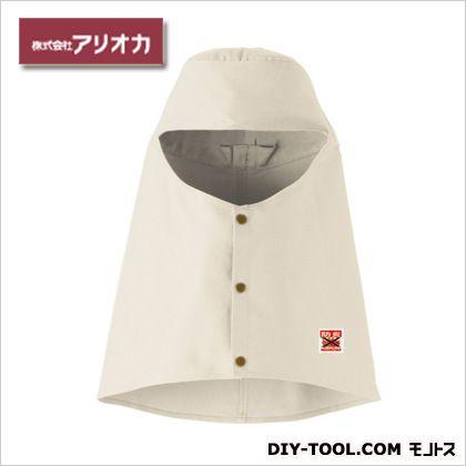 溶接・造船 作業着(作業服) 防炎溶接帽(ツバ無) アイボリー M (MD1006)