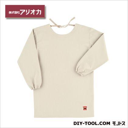 溶接・造船 作業着(作業服) 防炎エプロン(割烹着型) アイボリー  MD200