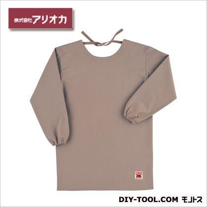 溶接・造船 作業着(作業服) 防炎エプロン(割烹着型) ベージュ (MD200)