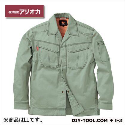 溶接・ 造船 作業着(作業服) 防炎ジャンパー アースグリーン LL MD2000